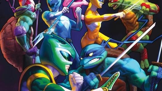 Crossover of the century: Mighty Morphin Power Rangers/Teenage Mutant Ninja Turtles #1 gets third printing