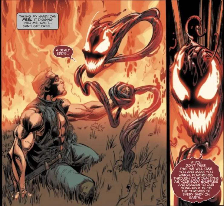 Eddie Brock needs a hand in 'Venom' #22