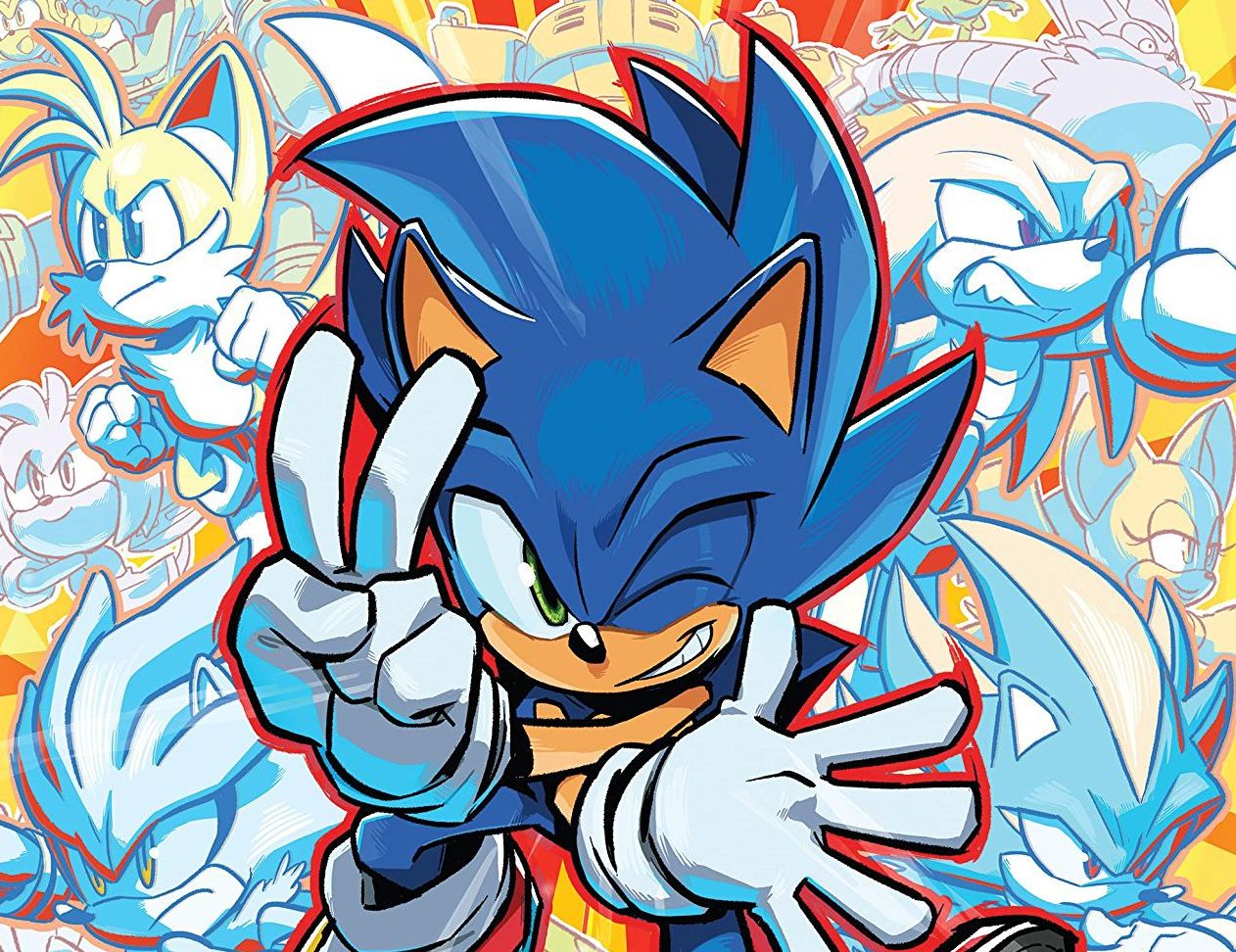Sonic the Hedgehog #25 Review