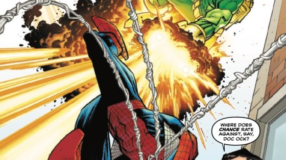 While Spidey is dealing with JJJ and Chance, something is brewing with Kindred and it can't bode well for Peter.