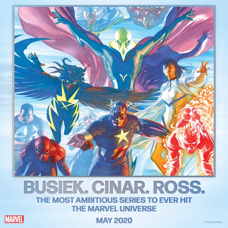 """Marvel Comics teases """"most ambitious series"""" ever featuring Spider-Man, Captain America, and...Aarkus?"""
