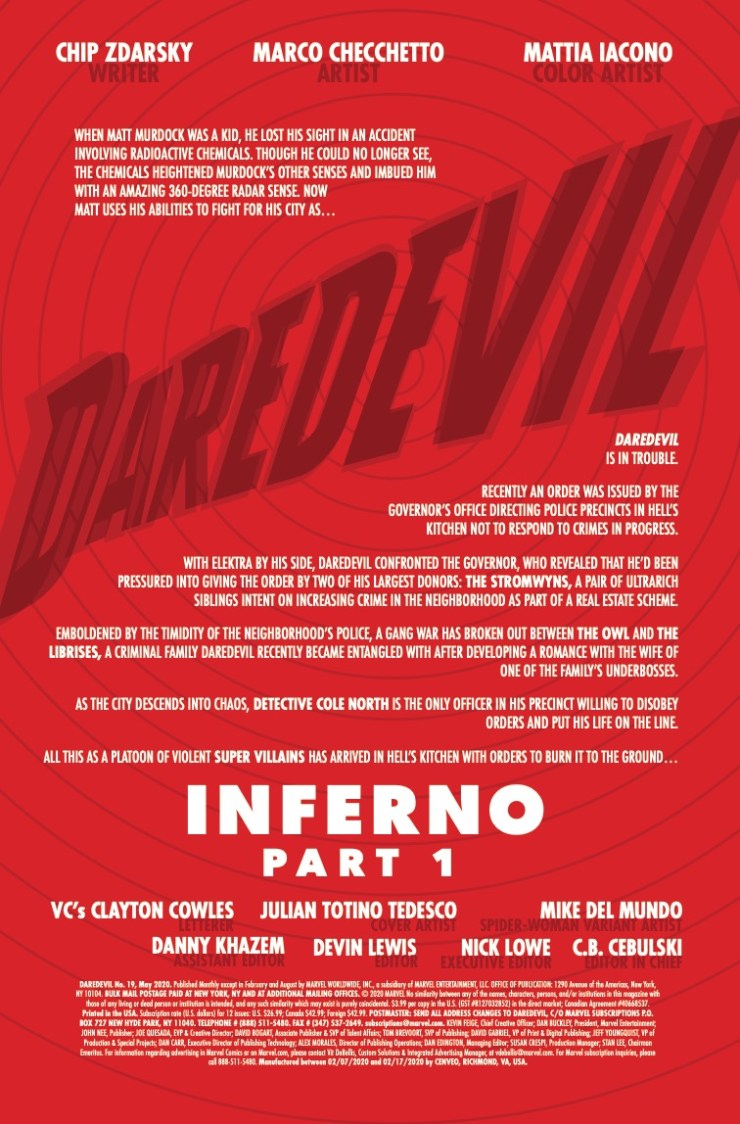 Marvel Preview: Daredevil #19