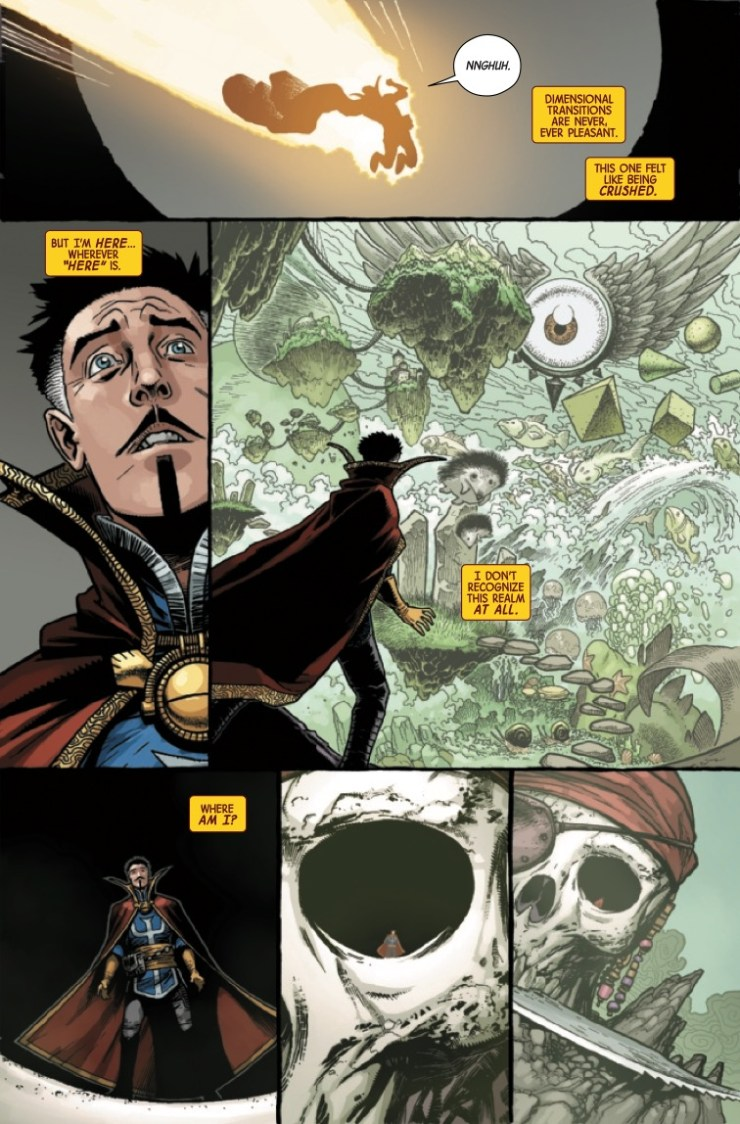 Marvel Preview: Dr. Strange #3