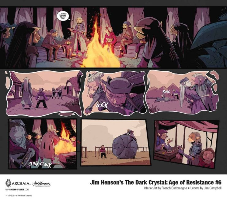 BOOM! Preview: Jim Henson's The Dark Crystal: Age of Resistance #6