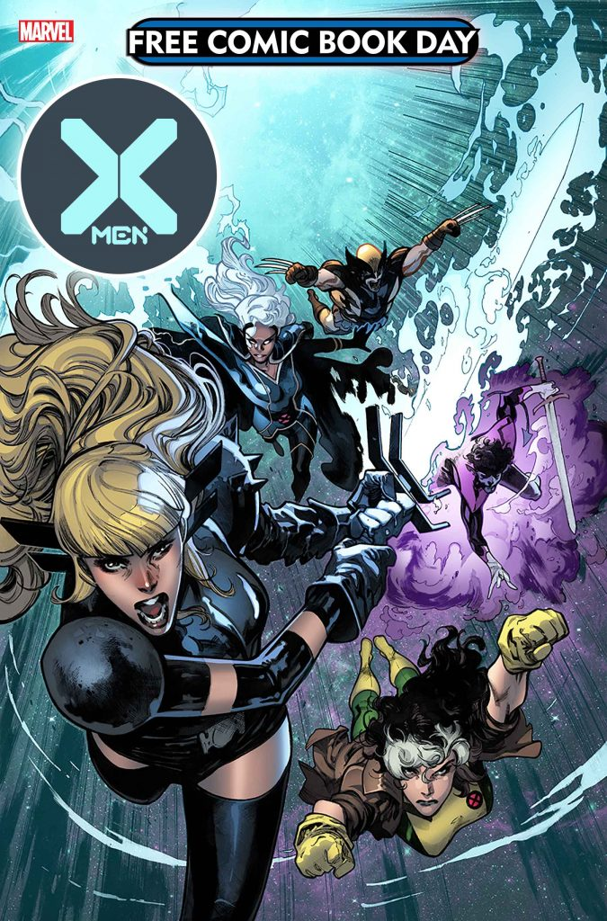 X-Men First Look: X-Men Free Comic Book Day cover revealed featuring Magik, Rogue, Wolverine, and more