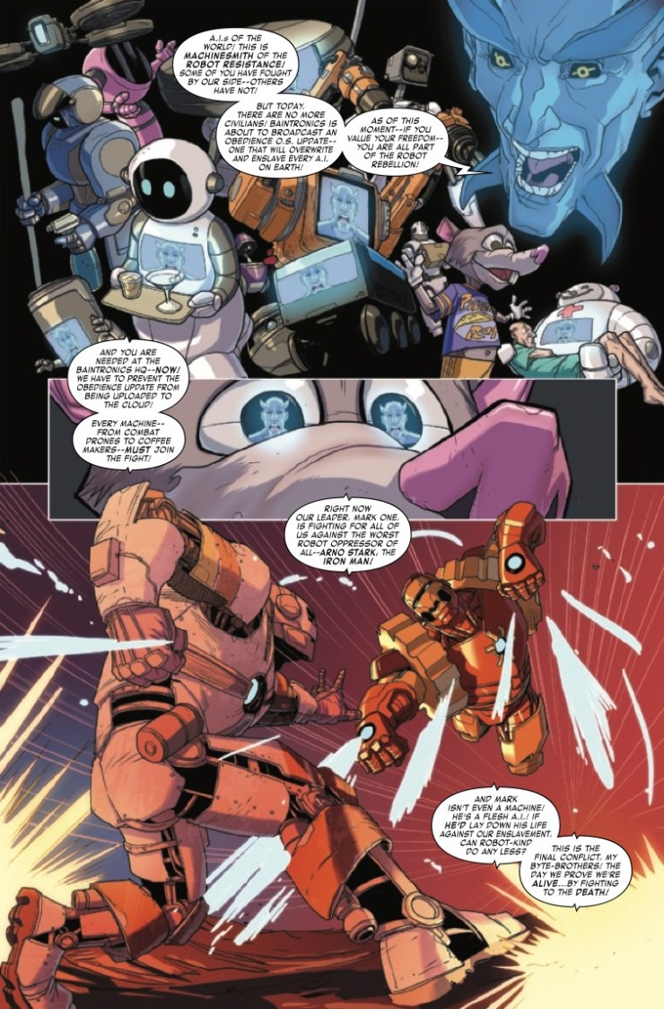 Marvel Preview: Iron Man 2020 #3