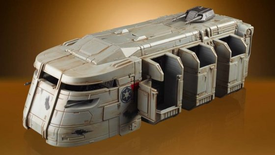 An iconic Star Wars toy which recently made its live-screen debut has finally arrived.