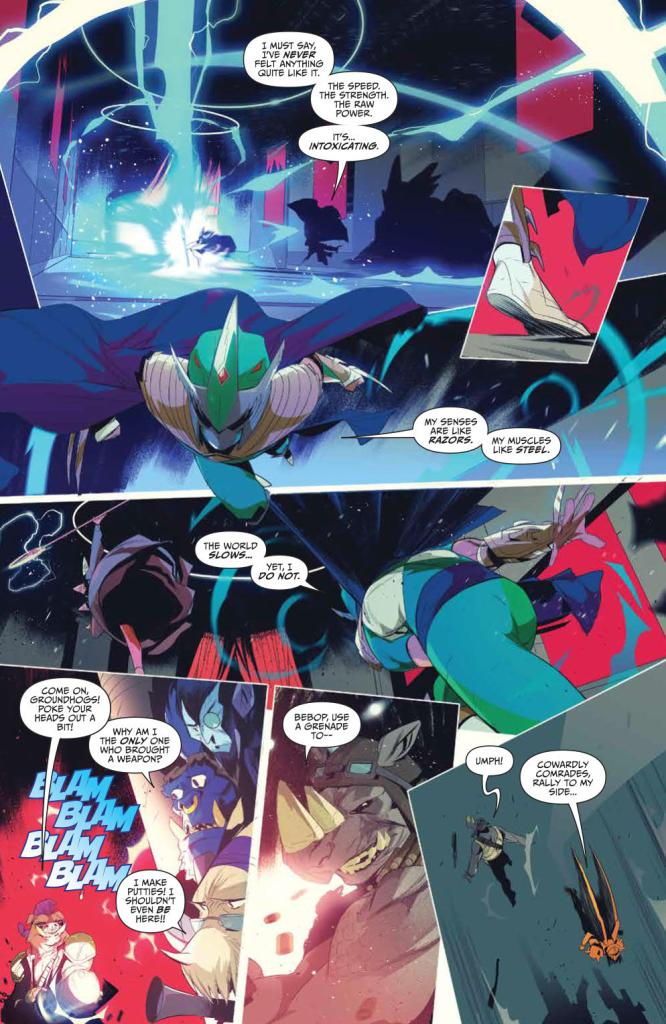 Mighty Morphin' Power Rangers/Teenage Mutant Ninja Turtles #3 Review