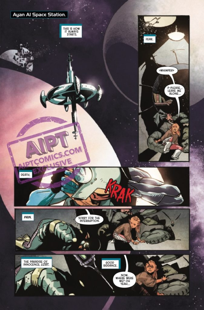EXCLUSIVE Marvel Preview: Nebula #1