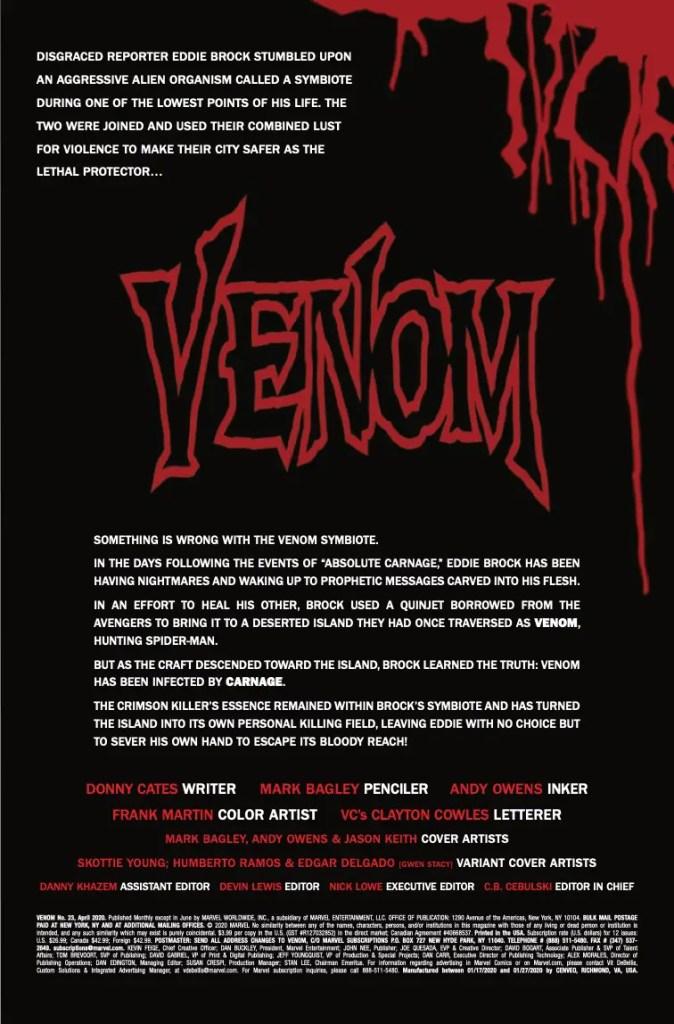 Marvel Preview: Venom #23
