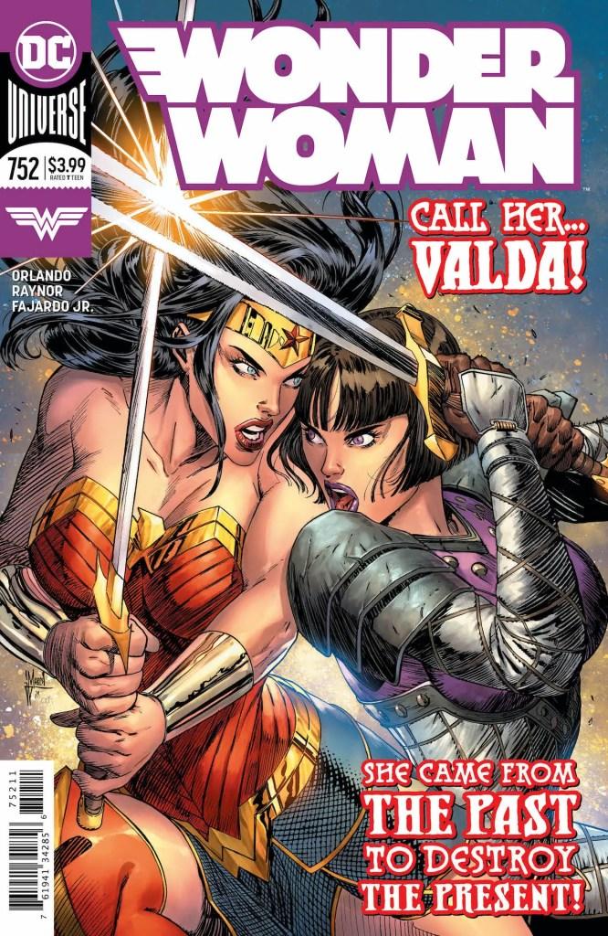 DC Comics Preview: Wonder Woman#752