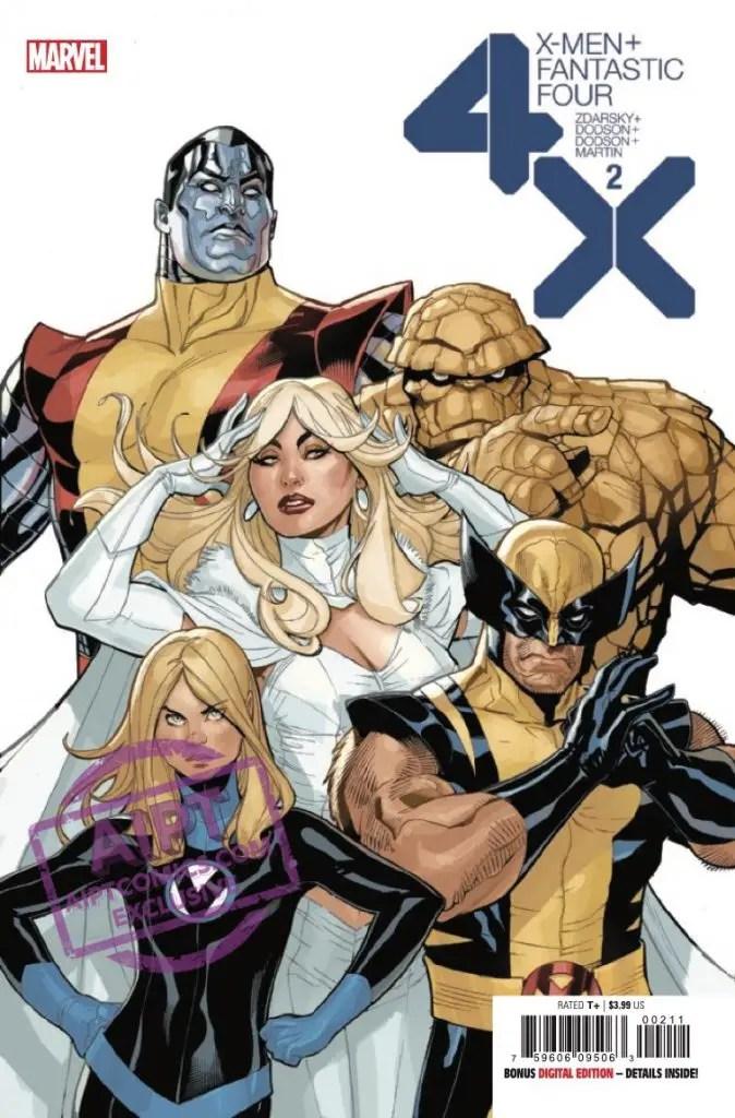 EXCLUSIVE Marvel Preview: X-Men + Fantastic Four #2