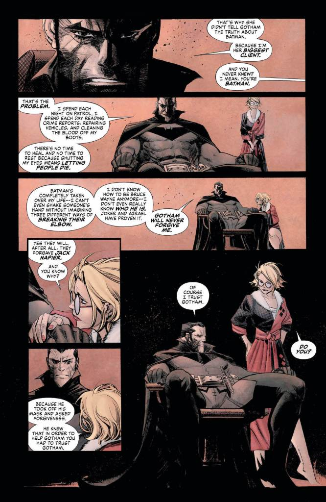 DC Preview: Batman: Curse Of The White Knight #7