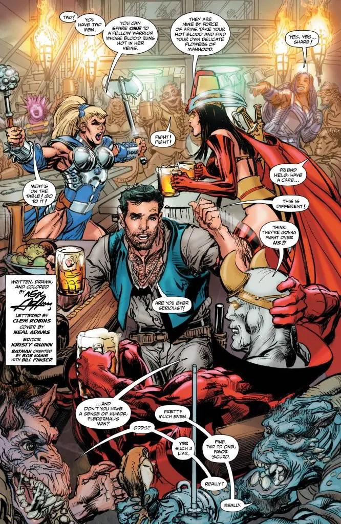 DC Preview: Batman vs. Ra's Al Ghul (2019-) #4