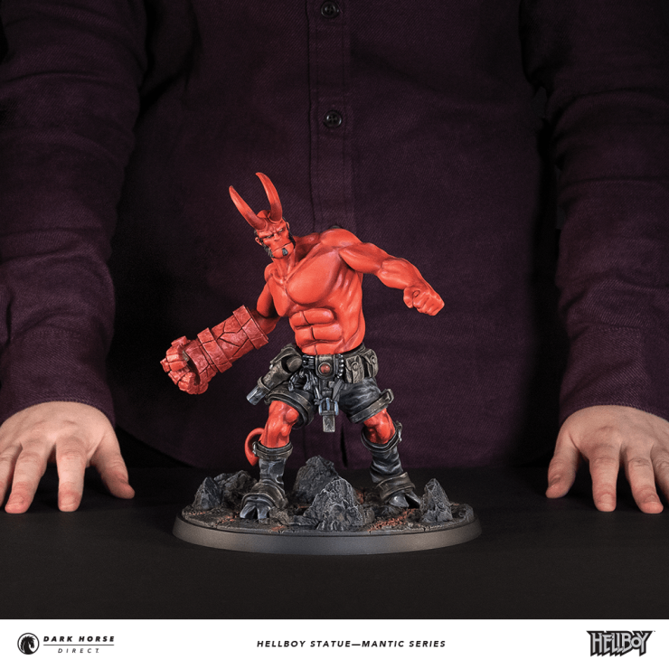 Dark Horse and Mike Mignola unveil board game inspired Hellboy statue