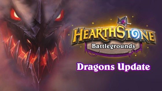 Dragons have entered the Battlegrounds in the latest Hearthstone patch.