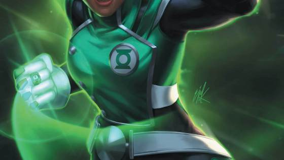 Meanwhile, we learn more about Jo's recruitment into the Green Lantern Corps, and the nature of her mysterious and unique power ring.