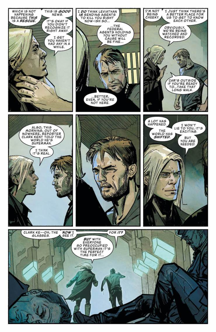 DC Preview: Leviathan Dawn #1