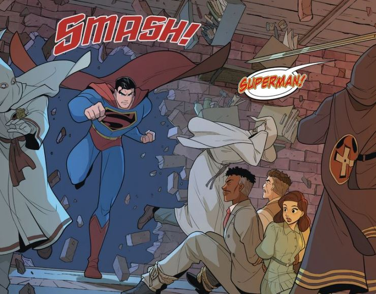 Superman Smashes the Klan #3 Review