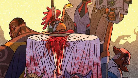 Outer Darkness/Chew #1 Review