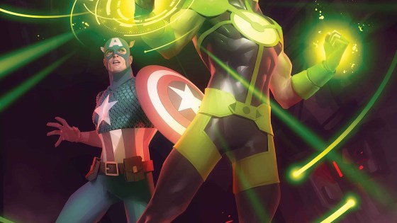 The gauntlet is passed in Marvel Comics this June.