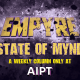 New EMPYRE STATE OF MYND weekly column coming to AIPT