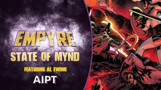 Empyre State of Mynd #3: Al Ewing talks co-writing Empyre, insight on Hulkling, and ancient magic