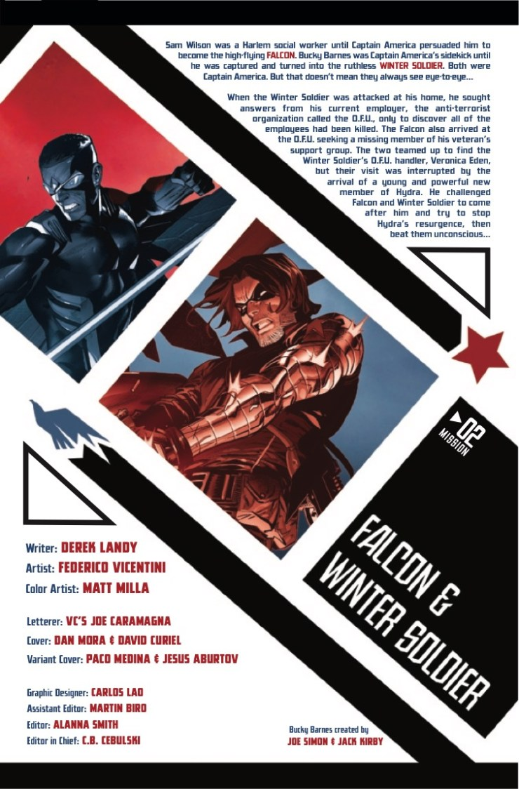 Marvel Preview: Falcon & Winter Soldier #2