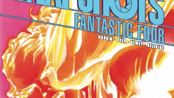 The tale of the ten-year high-school reunion of the Fantastic Four's own Human Torch.