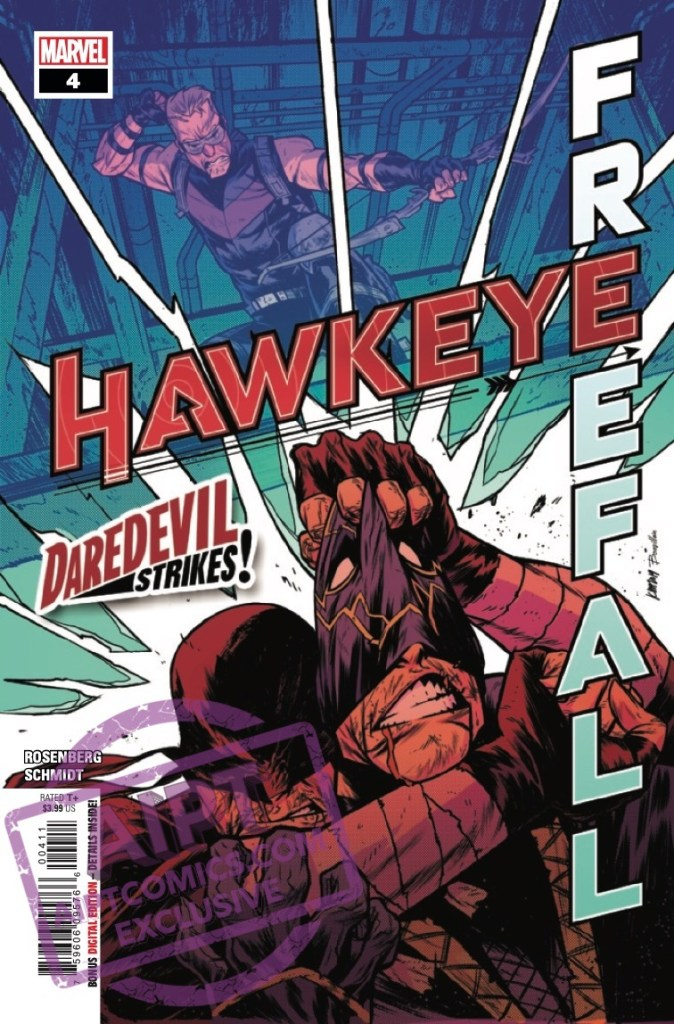 EXCLUSIVE Marvel Preview: Hawkeye: Freefall #4