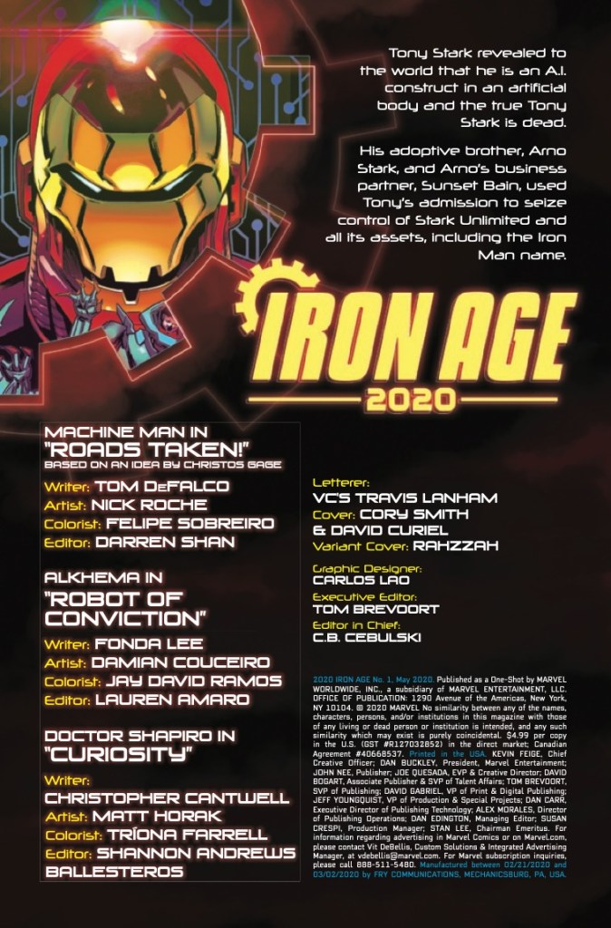 Marvel Preview: Iron Age: 2020 #1