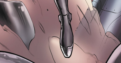 Marvel is slowly unveiling a new kind of cat superhero in snippets of images.