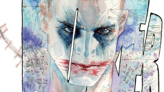 'Criminal Sanity Secret Files' is a fascinating approach in defining Joker via mixed media and realism.
