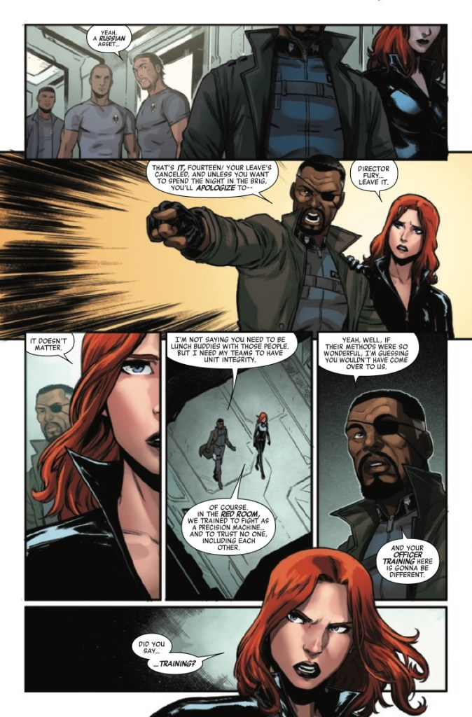 Marvel Preview: Avengers: Black Widow #1