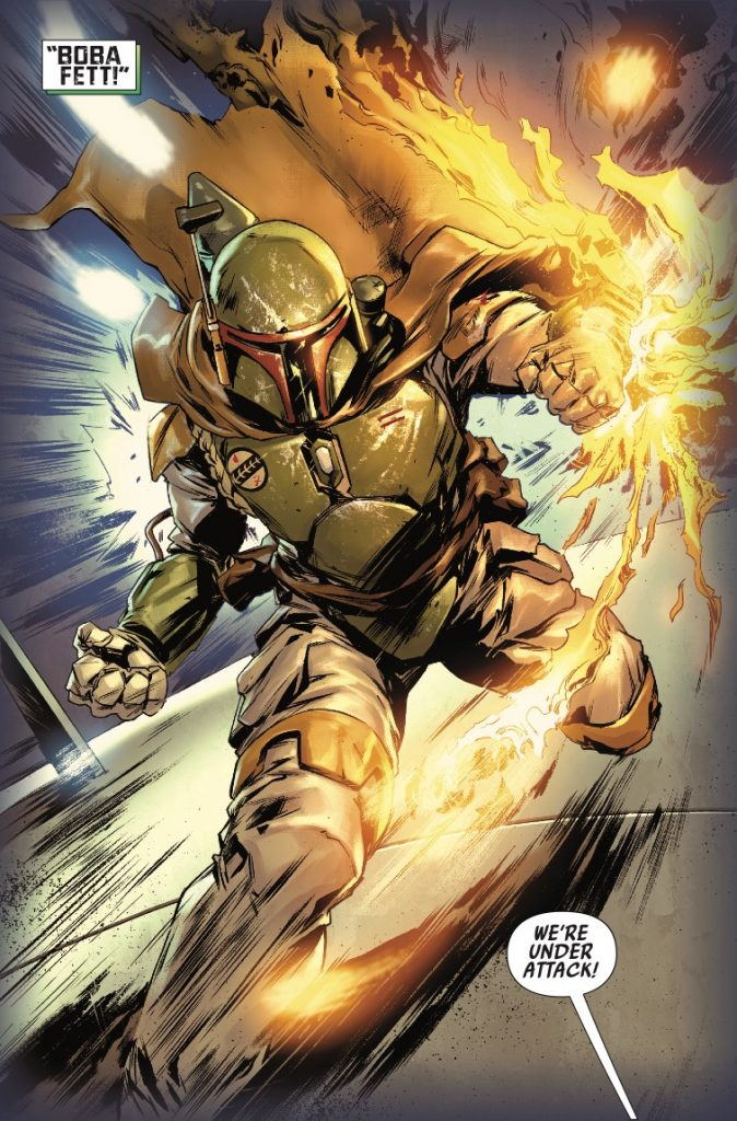 NEVER BETRAY A BOUNTY HUNTER - ESPECIALLY IF IT'S BOBA FETT!