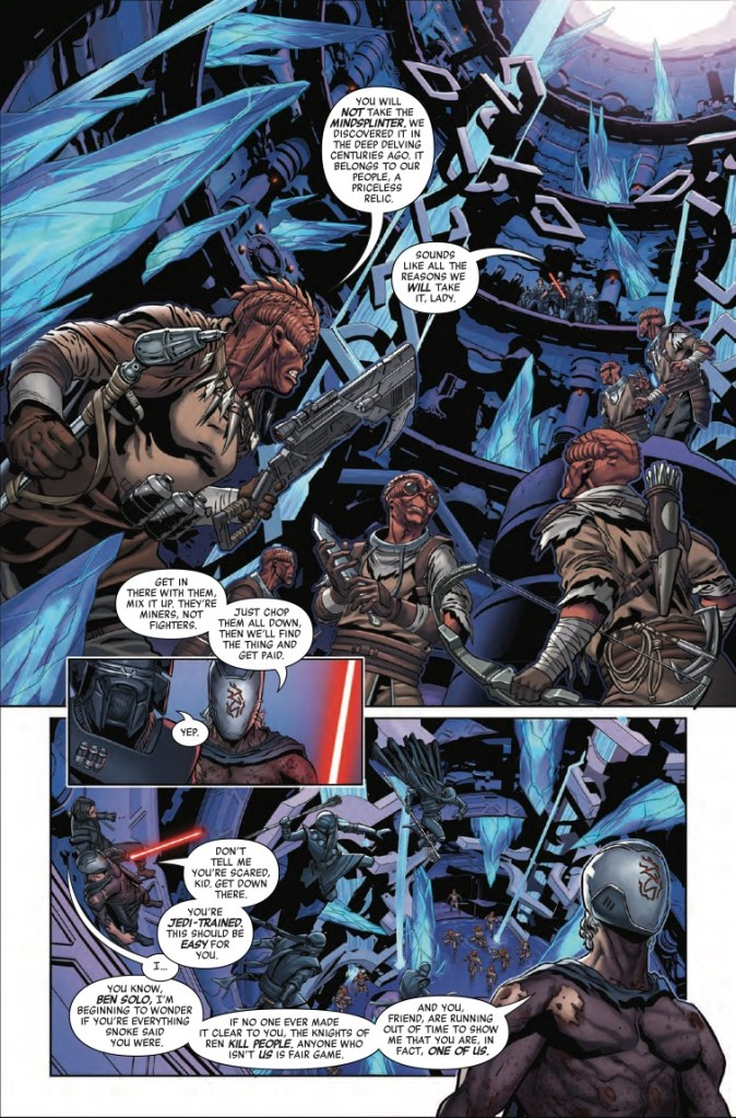 Marvel Preview: Star Wars: The Rise Of Kylo Ren #4
