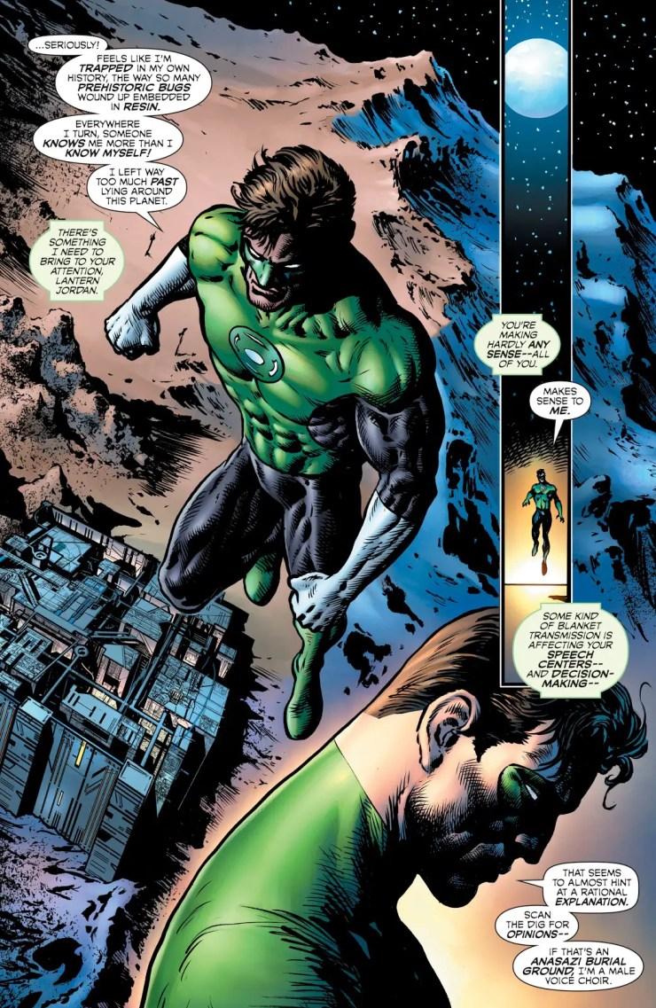 The Green Lantern S2 #2 Annotations: A Good Man?