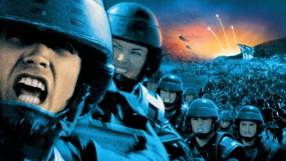 'Starship Troopers' holds up well.