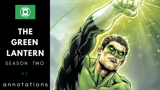 Hal Jordan returns to Earth!