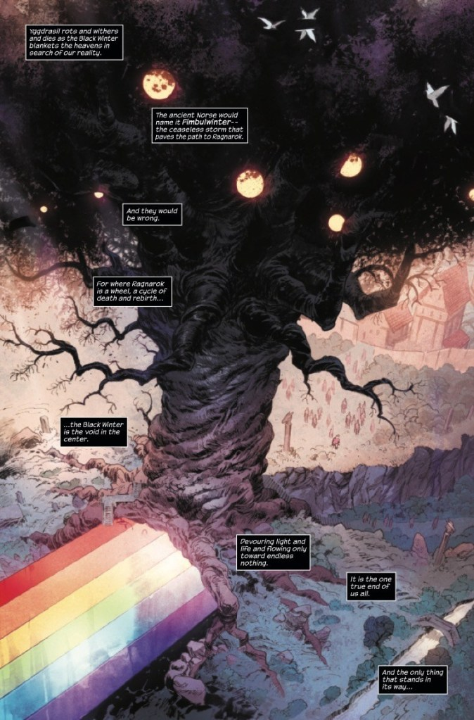 The Black Winter is coming - the end of the entire vast universe - and only one entity can stop it.