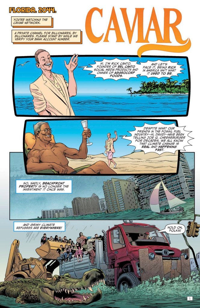 Mark Russell on 'Second Coming,' 'Billionaire Island,' and being comics' biggest heretic