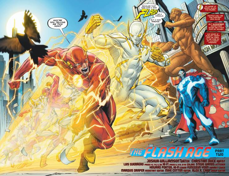 DC Preview: The Flash #751