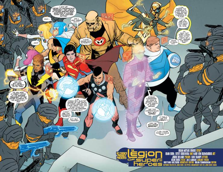 DC Preview: Legion of Super-Heroes #5