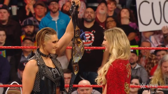 How The Nightmare went from a rookie with potential in Australia to facing off against Charlotte Flair at WrestleMania.
