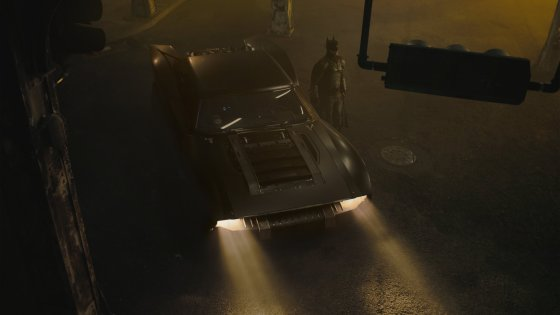 First look at The Batmobile (and Batman's ears) from 'The Batman'
