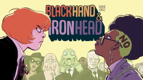 BlackHand & IronHead web comic receives print edition