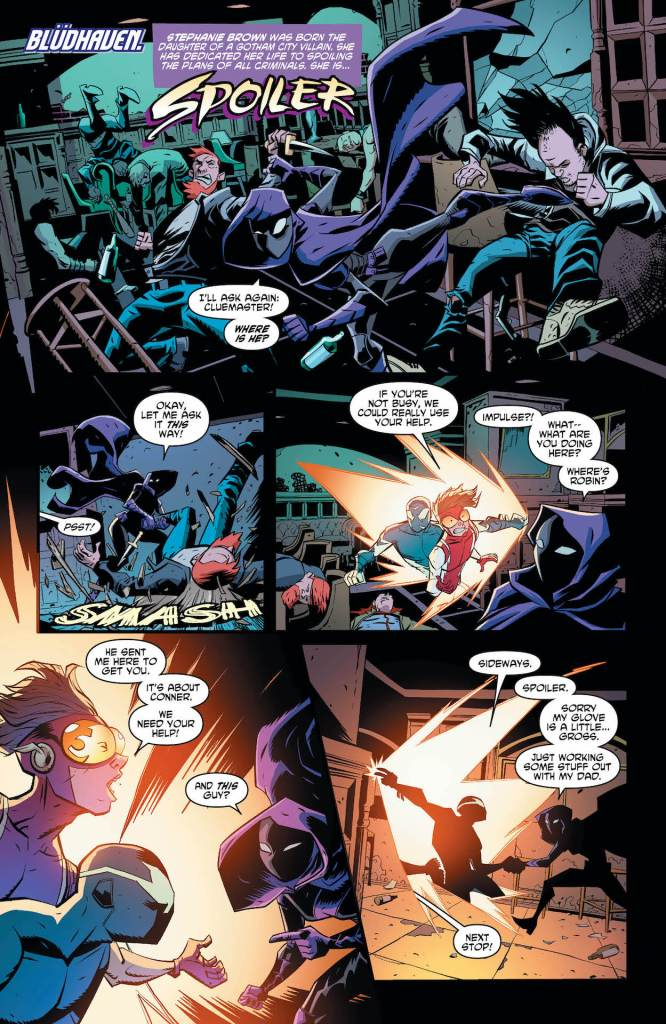 DC Preview: Young Justice #14