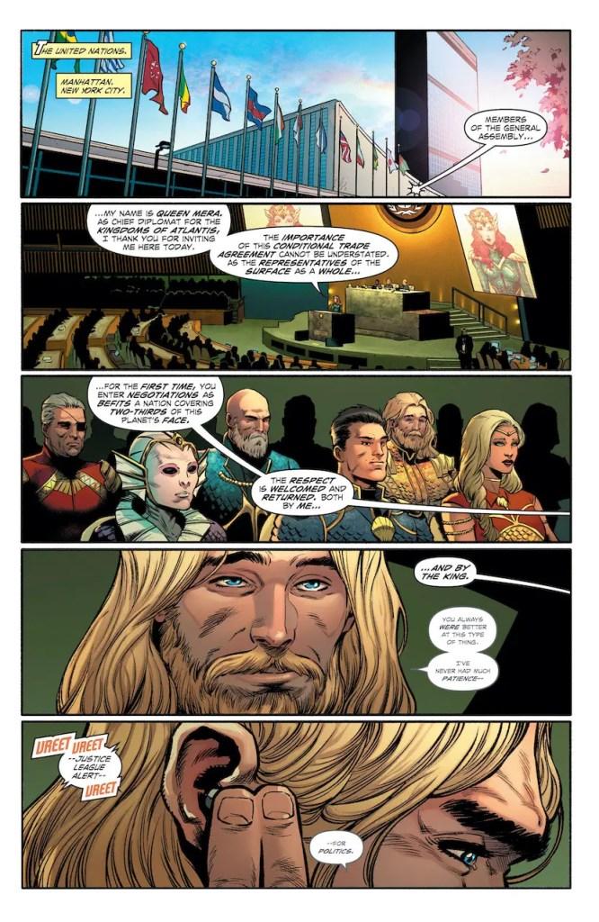 DC preview: Aquaman: Deep Dives#1