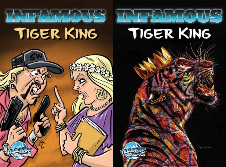 A 'Tiger King' comic book is coming