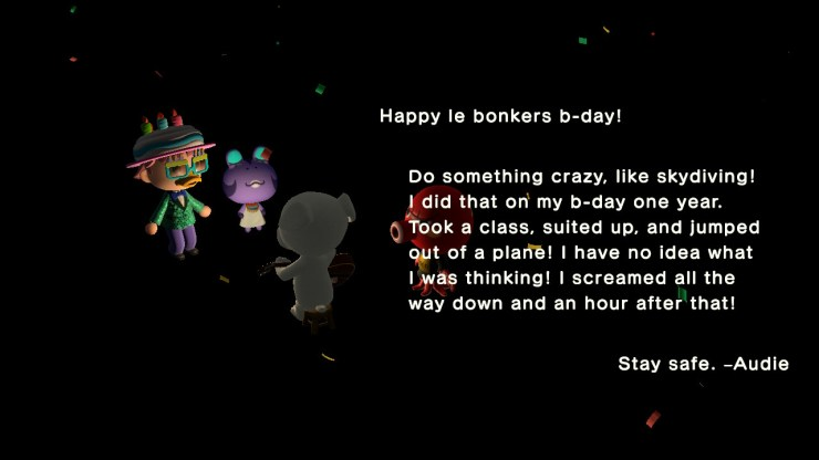Animal Crossing: New Horizons made my birthday feel special again